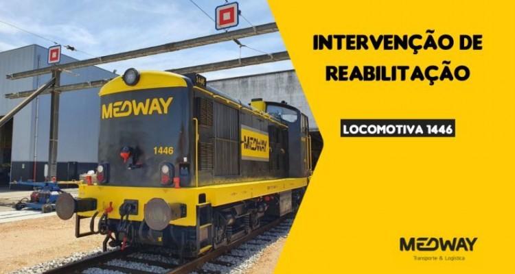 Rehabilitation of yet another MEDWAY locomotive