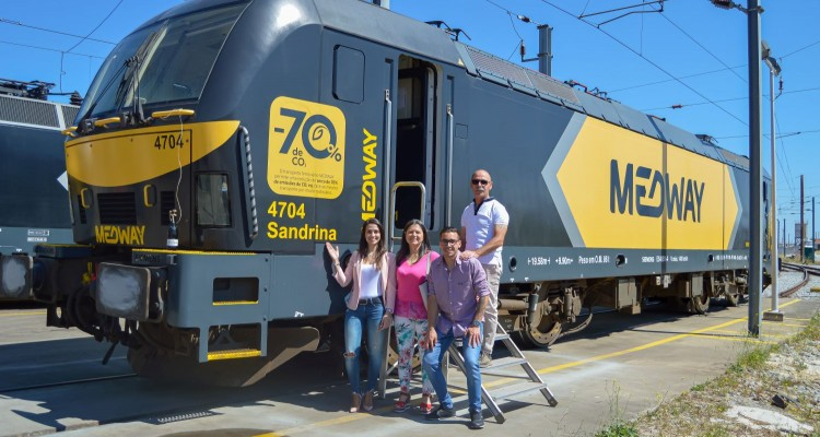 In the last two months, we've christened 27 locomotives