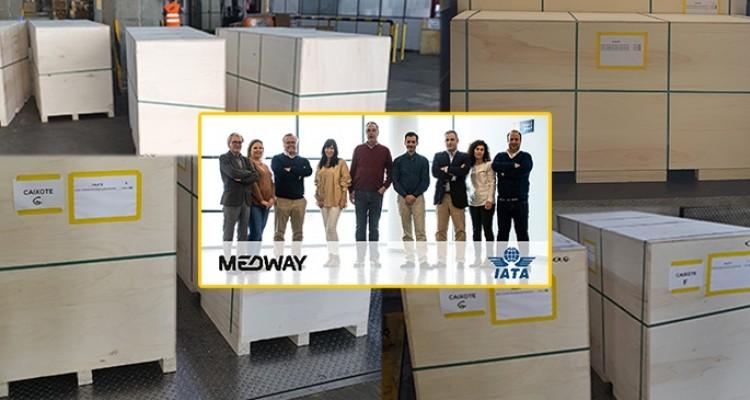MEDWAY Logistics transporta 16 toneladas por vía aérea