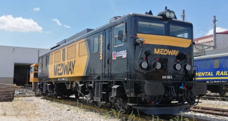 MEDWAY strengthens its fleet in Spain with the addition of 8 more locomotives